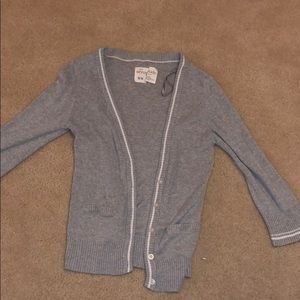 Grey with white striped sweater from Aeropostale